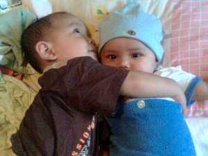 Ali waktu umur 2thn & Shafa 1thn